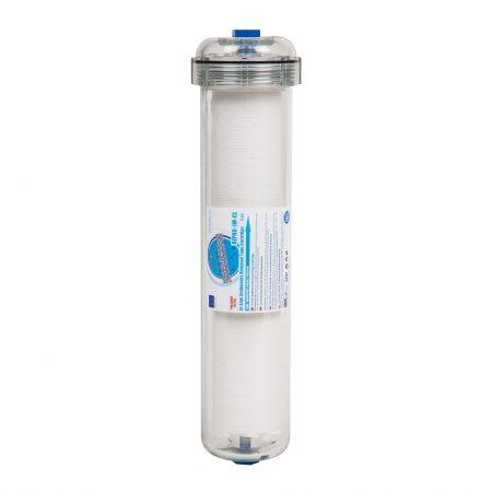 """Filtru din polipropilena pentru sedimente, 5 microni, transparent (12""""x2.5"""")"""
