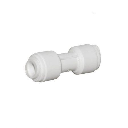 "Conector inadire, 1/4"" furtun x 1/4"" furtun, cuplare cu mufa rapida, pentru tub de 6 mm"
