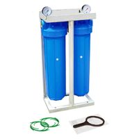 "Set 2 carcase BIG BLUE 20"", cadru metalic, manometre si cheie"