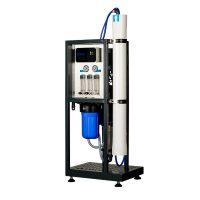 """Osmoza inversa industriala, FILTRO RO 250L, controler, 1 membrana 40"""", prefiltrare si pompa inclusa"""