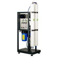 """Osmoza inversa industriala, FILTRO RO 500L, controler, 2 membrane 40"""", prefiltrare si pompa inclusa"""