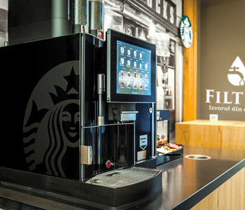 Filtru de apa pentru aparatele de cafea, ceai si alte bauturi calde